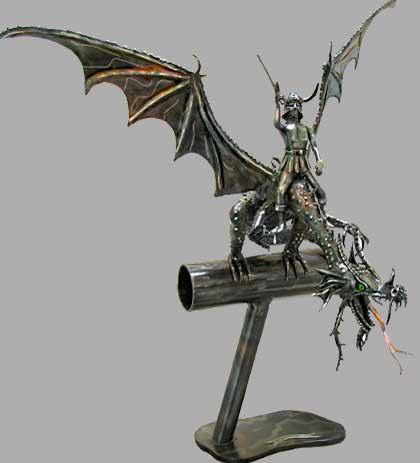Sculptures fantastiques Dragon_sculpture