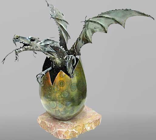 Sculptures fantastiques Oeuf_sculpture