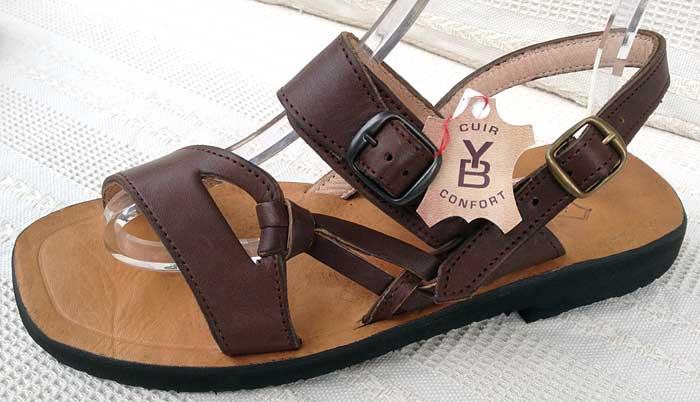 Sandales Artisanales Creation Boutique Drome Yvan Baratian