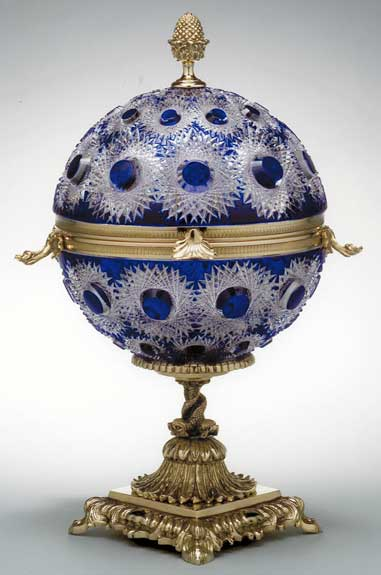 Seaux a champagne en cristal art de la table decoration for Art de la table de luxe
