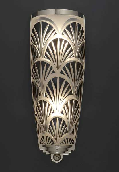 crystal nouveau wall sconce lighting creation franck benito wall light art deco. Black Bedroom Furniture Sets. Home Design Ideas