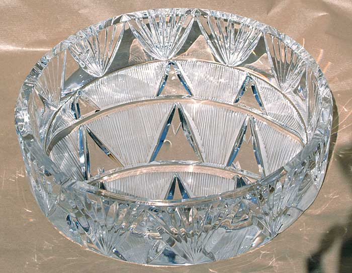 Cendriers cristal tailles main decoration maison franck benito for Decoration cristal