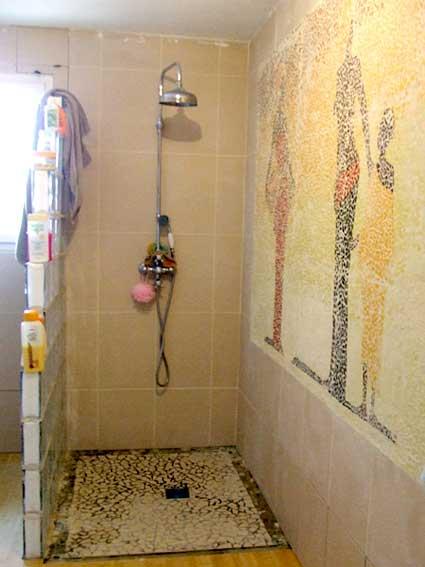 Mosaique Ardoise Salle De Bain