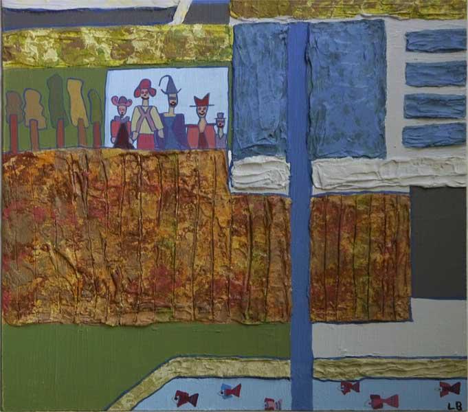Artiste peintre laurence besnier for Fenetre 30x30