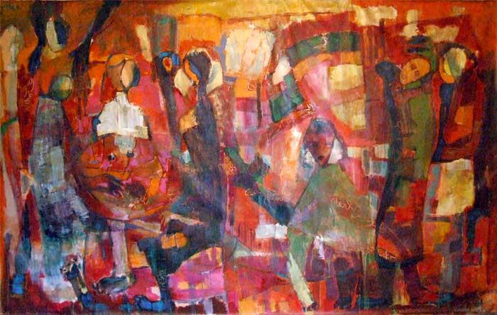 artiste peintre  fatima binet ouakka