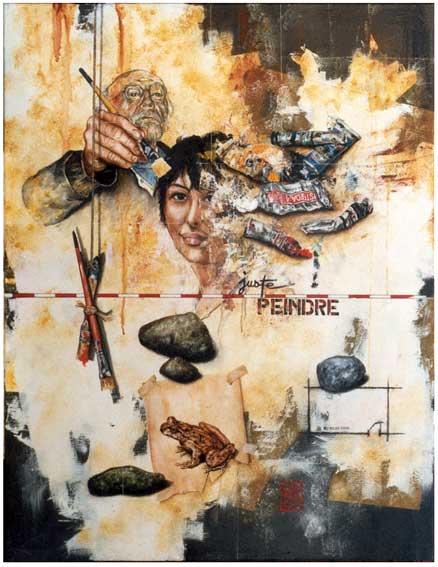 Artiste peintre alain campello for Peinture conceptuelle