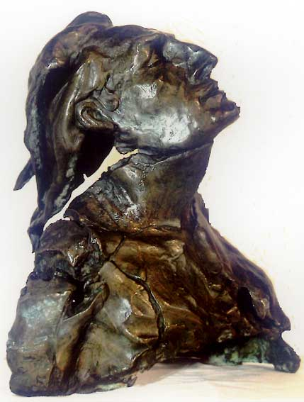 Sculptures bronze buste