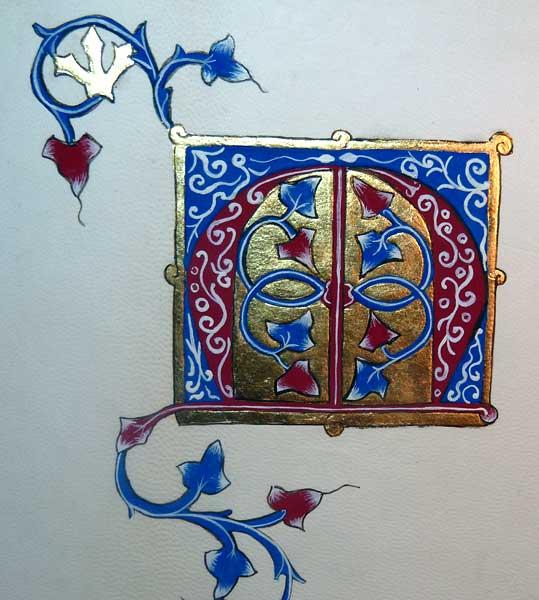 Stages Enluminure Par Martine Connay En D 233 Partement 91 Ile De France Essonne Les Yvelines