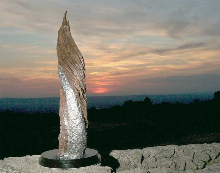 sculptures monumentales  david coquet