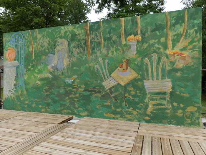 peintre en decor languedoc
