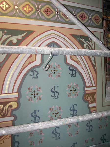 Restauration peintre en decor languedoc roussillon for Peintures murales