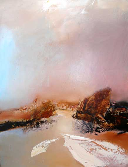 artiste peintre abstrait expressionniste jean balitran