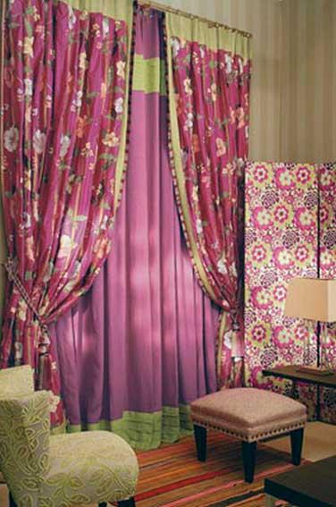 Confection de rideaux double rideaux sur mesure