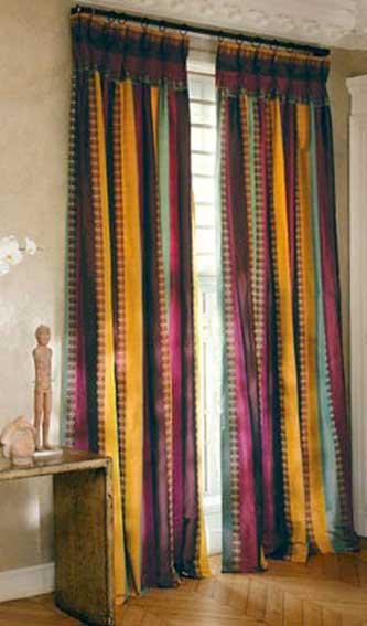 Confection de rideaux creaplus vous propose la creation - Rideaux sur mesure occultant ...