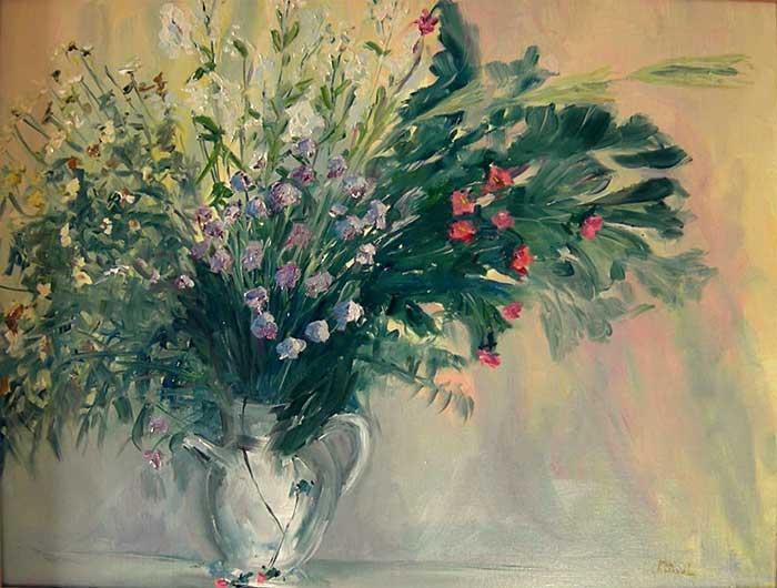 Les FLEURS  dans  L'ART - Page 21 Bouquet_peinture