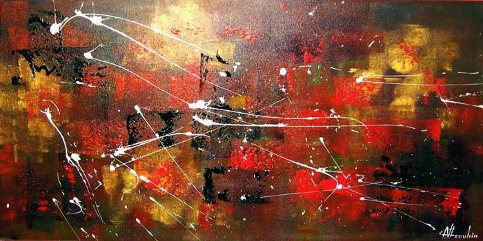 Artiste peintre abstrait natallia drouhin for Artiste art abstrait