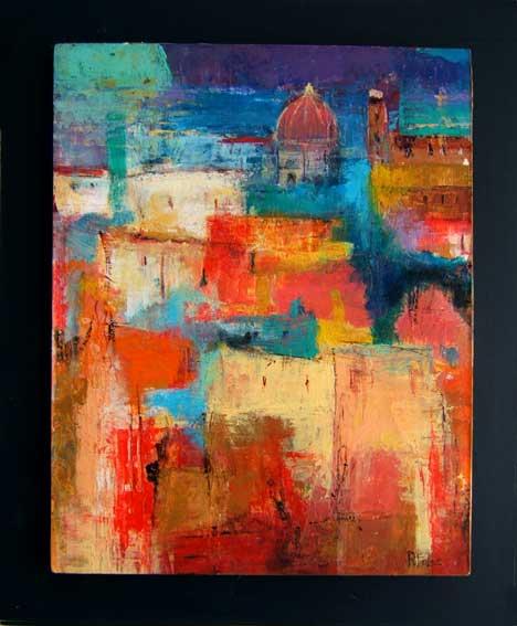 Galerie de peintres for Galerie art abstrait