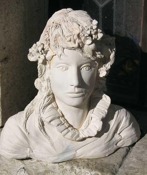 Fabulous Sculptures Terre Cuite, Giachetti Celine. LW15