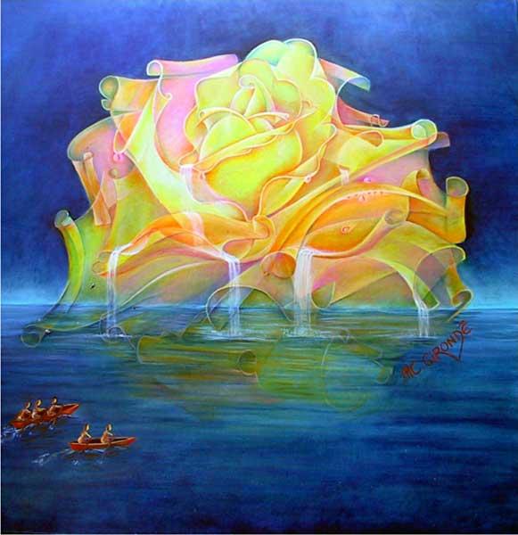 peintures symbolisme  marie