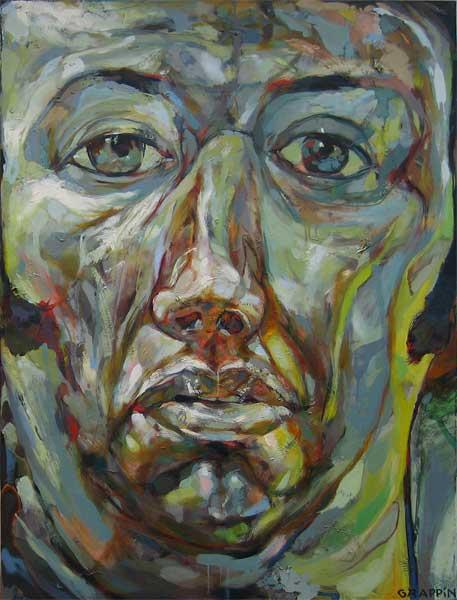 Peintures portrait par arnaud grappin artiste peintre - Auto entrepreneur artiste peintre ...