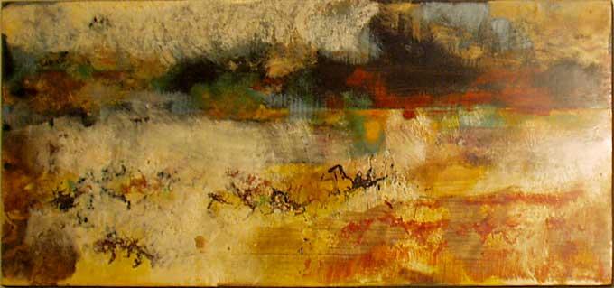 Peintre abstrait expressionniste francois grignon - Peinture fer sur bois ...