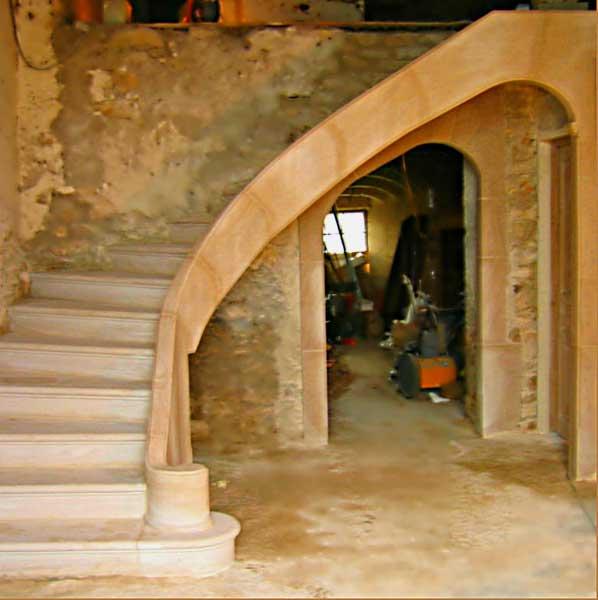 Escaliers Vosges: Construction Escaliers En Pierre, Macaire Agencement Et