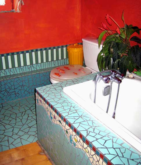 salle de bain d coration odile maffone mosaiste. Black Bedroom Furniture Sets. Home Design Ideas