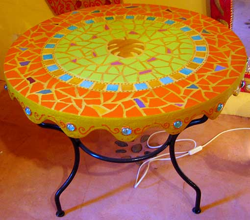 tables mosaique decoration d interieur decoration. Black Bedroom Furniture Sets. Home Design Ideas