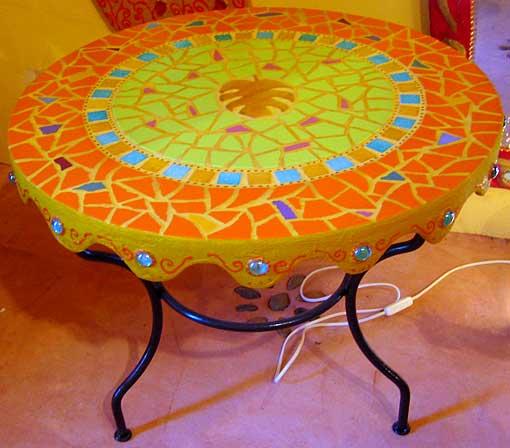 tables mosaique decoration d interieur decoration mosaique odile maffone. Black Bedroom Furniture Sets. Home Design Ideas