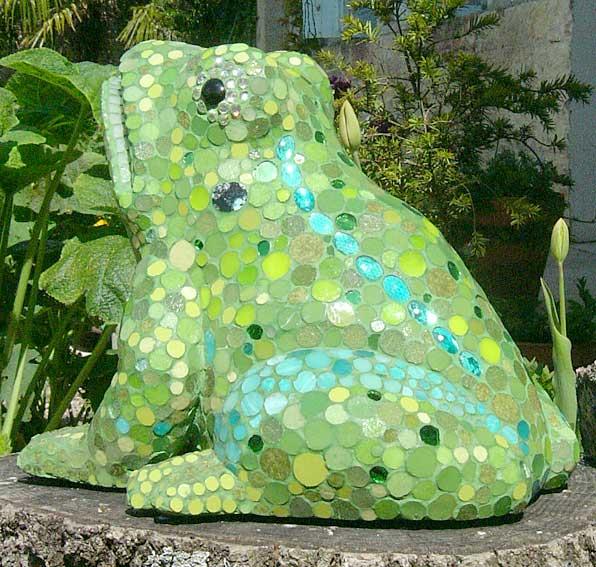 Mobilier mosaique decoration mosaique mozaic toone pour - Salon de jardin mosaique ...