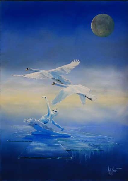 art fantastique  peintures fantastiques  philippe noet