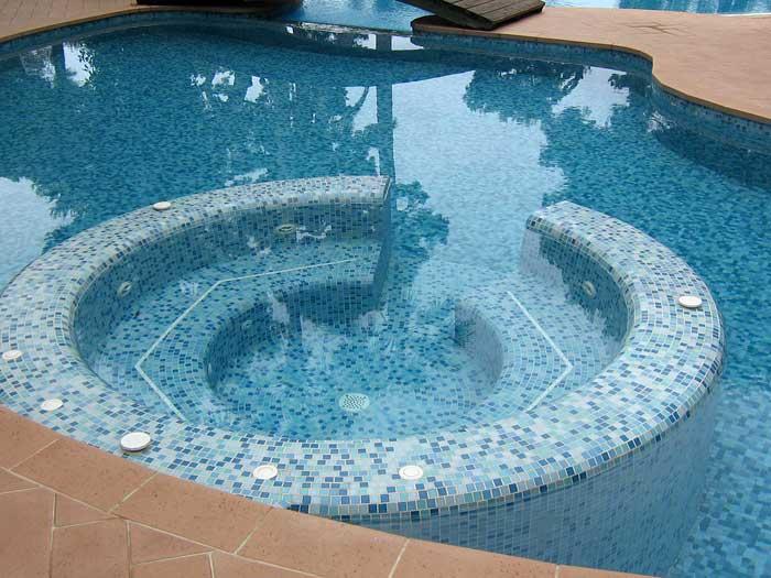 Decoration d interieur revetement des murs et sols jean for Decoration pour piscine