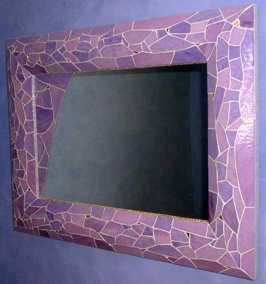 Decoration d interieur miroirs creation jean pyrka for Miroir mosaique