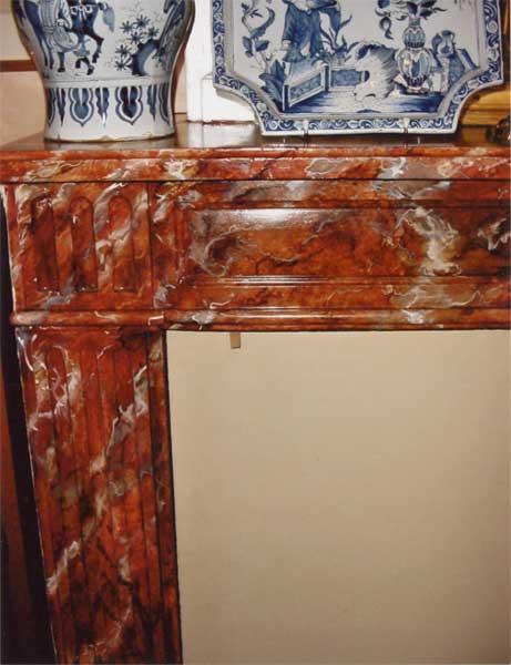 Meubles Peints Decoration Faux Bois Faux Marbre Trompe