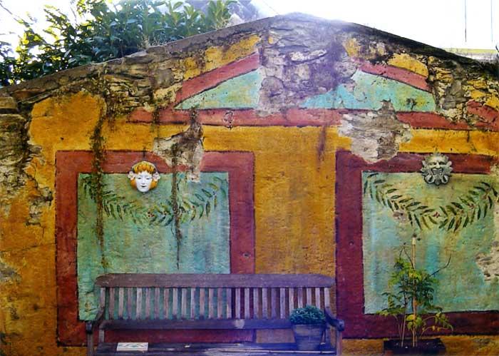Peinture panoramique exterieur trompe l 39 oeil panoramique for Decoration murale fausse fenetre