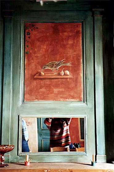 Peintre en decor en loir et cher blois peinture decorative peinture trompe l oeil odile - Trompe l oeil peinture ...