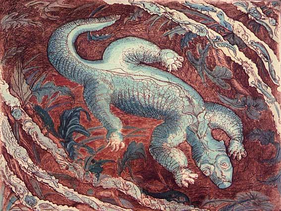 Art fantastique brigitte solberg for Peinture crocodile