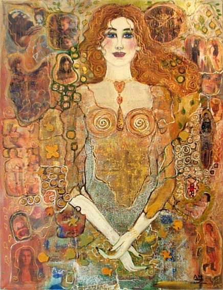 Rencontre femme artiste peintre